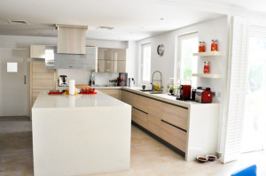 GK Green Community Villa Kitchen Project by Goettling Interiors