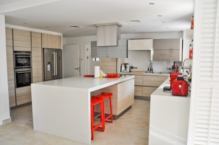 GK Green Community Villa Kitchen Project by Goettling Interiors