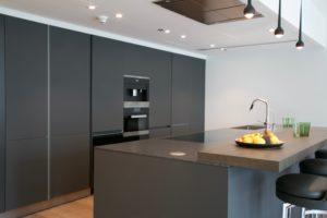 EK Sanibel Park Island Condominium Kitchen Project by Goettling Interiors
