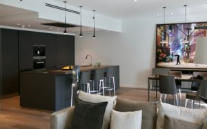 EK Sanibel Park Island Condominium Kitchen Project by Goettling Interiors
