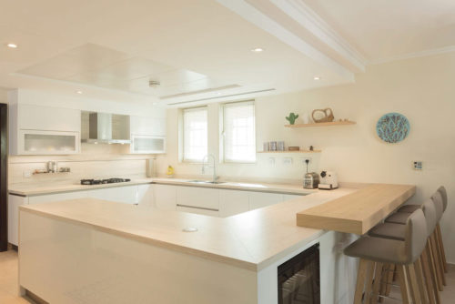 PA Jumeirah Park Villa Kitchen & Lighting Project by Goettling Interiors