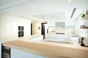 PA Jumeirah Park Villa Kitchen & Lighting Project by Goettling Interiors