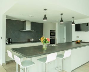 AG Bonaire Park Island Kitchen Project by Goettling Interiors