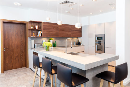 PF Palm Jumeirah Oceana Atlantic Apartment Kitchen Project by Goettling Interiors