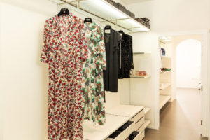 Executed Project, Dubai, Jumeirah, Interlübke wardrobe, German brand, small space maximum storage, open wardrobe, Magrudy