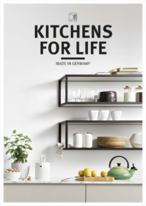 Schüller C collection, complete catalogue, consumer segment, kitchens for life