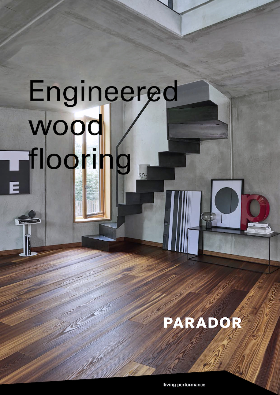 Parador flooring, parquet flooring, vinyl floor, clickpanel, engineered wood floor