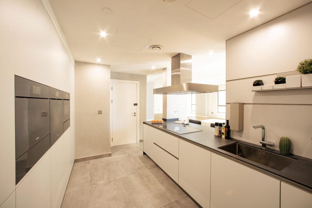 SB Murjan 3 Penthouse Kitchen Project by Goettling Interiors