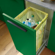 Concealed Recycling waste bag