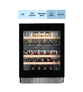 product photo of built-in wine cooler by liebherr with features thumbnails