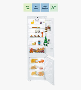 product photo of built-in fridge by liebherr with features thumbnails