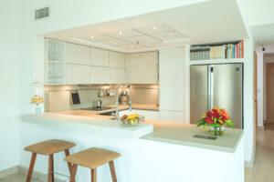 MU Marina Park Island, Dubai Marina Kitchen Project by Goettling Interiors