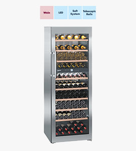 product photo of wine cooler by liebherr with features thumbnails
