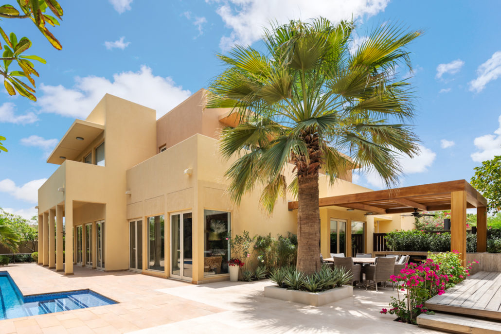 JDR Arabian Ranches villa photo from outside