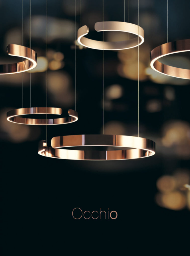 occhio lighting 2019 brochure thumbnail