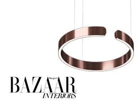 HAPERPER'S BAZAAR INTERIORS FEATURES OCCHIO MITO LIGHT