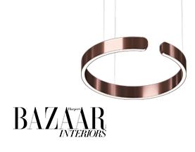 HAPERPER'S BAZAAR INTERIORS FEATURES OCCHIO MITO LIGHT