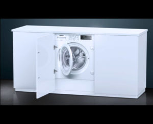 Siemens washing machine integrated - goettling