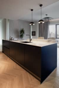 Downtown Dubai South Ridge Tower Kitchen Project by Goettling Interiors