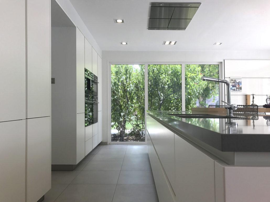 JS Luxury Villas Green Community kitchen project by Goettling Interiors