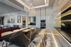 RB Dubai Hills Golf Villa Kitchen & Pantry Project by Goettling Interiors (SHOW KITCHEN)