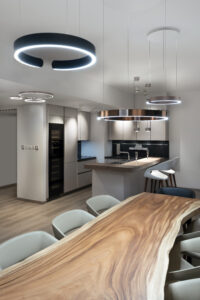 NS The Greens Apartment Kitchen, Lighting & flooring Project by Goettling Interiors - Part 2