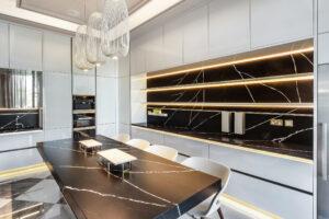 RB Dubai Hills Golf Villa Kitchen & Pantry Project by Goettling Interiors (SHOW KITCHEN)