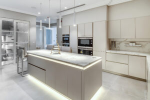 RB Dubai Hills Golf Villa Kitchen & Pantry Project by Goettling Interiors (MAIN KITCHEN)