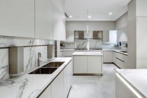 RB Dubai Hills Golf Villa Kitchen & Pantry Project by Goettling Interiors (MAIN KITCHEN)
