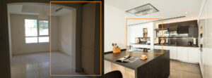 YD The Lakes Zulal Kitchen Before&After image