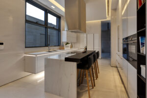 MBF Umm Al Sheif Villa Kitchen and Pantry Project by Goettling Interiors (SHOW KITCHEN)