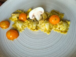 Emmental Cheese Ravioli by Chef Salvatore