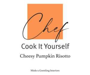 Cheesy Pumpkin Risotto