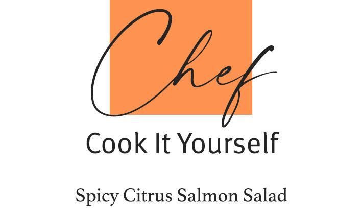 Spicy Salmon Salad by Fruitfulday UAE