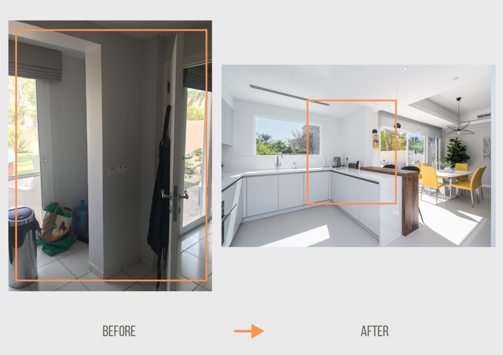 Before&After UB Springs 1 (Type 3) Kitchen Project by Goettling Interiors