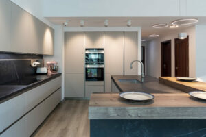 NS The Greens Apartment Kitchen, Lighting & flooring Project by Goettling Interiors – Part 1