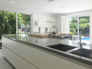 JS Luxury Villas Green Community kitchen project by Goettling Interiors