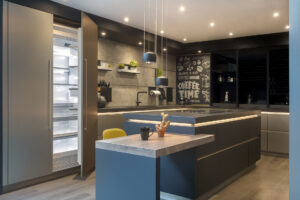 ZK Dubai Hills Hattan Villa Kitchen & Lighting Project by Goettling Interior