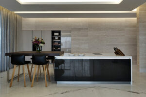 MBF Umm Al Sheif Villa Kitchen and Pantry Project by Goettling Interiors (1ST FLOOR OPEN KITCHEN)