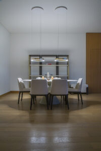 NH Bulgari Residences Apartment Kitchen & Lighting Project by Goettling Interiors