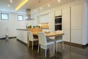 NK Palm Jumeirah Villa Kitchen Project by Goettling Interiors