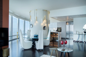 AL Burj Khalifa Apartment Kitchen Project by Goettling Interiors
