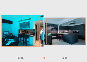 Before&After MM Dubai Marina Apartment Kitchen Project by Goettling Interiors