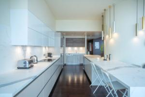 AL Burj Khalifa Apartment Kitchen Project by Goettling Interiors